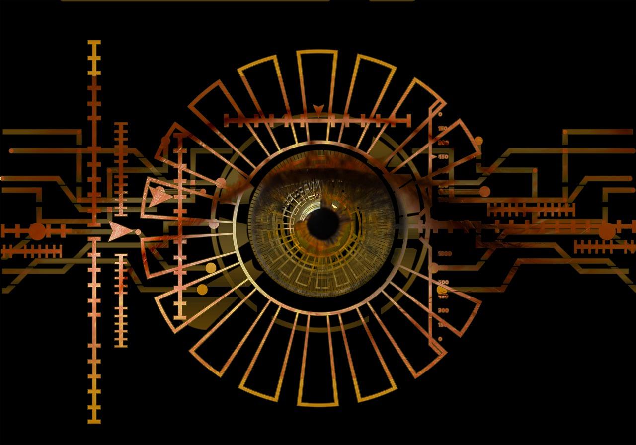 Bio-metrics eye scan